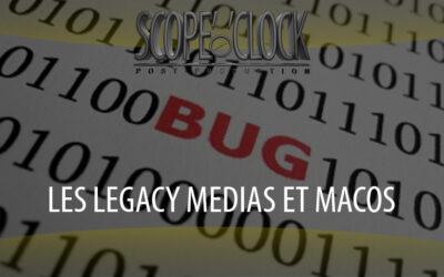 L'avenir des Legacy Medias sous macOS