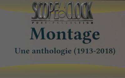 Livre : Montage une Anthologie (1913-2018)