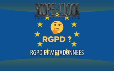 Le RGPD et les métadonnées