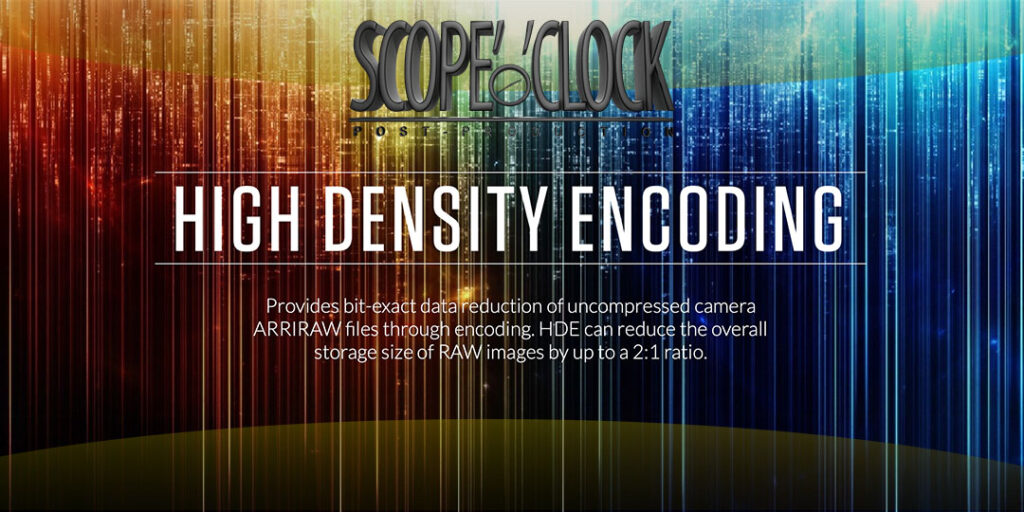 Arri Codex High Density Encoding