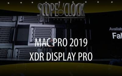 Mac Pro 2019 & XDR Display Pro