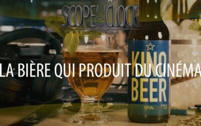 Une bière qui produit du cinéma