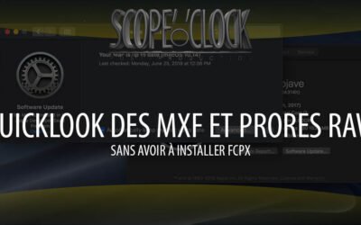 Lire un ProRes RAW ou un MXF avec QuickLook