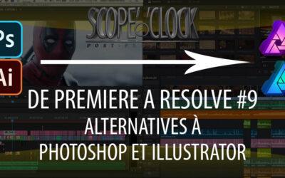 De Premiere Pro à DaVinci Resolve #9 Alternatives à Photoshop et Illustrator