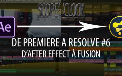 De Premiere Pro à Davinci Resolve #6 Fusion