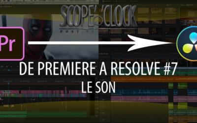 De Premiere Pro à Davinci Resolve #7 Le Son