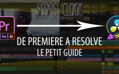 De Premiere Pro à DaVinci Resolve : Sommaire