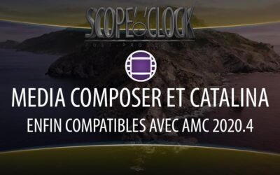 Media Composer et macOS Catalina